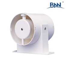 quiet and safe home use waterproof ABS plastic large air quantity round electric indoor wall mounted axial exhaust fan