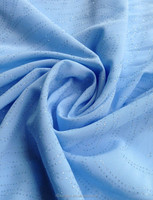 100% poly elastic chiffon fabric for fashion garments