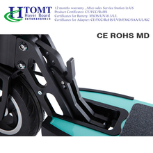 2017 CE FCC 24V Aluminium Alloy/Carbon fiber Folding Mobility 24V 6 Inch Two Wheels Electric Scooter