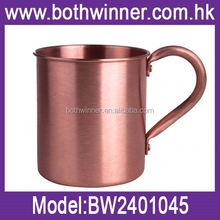 pure solid copper mugs for moscow mule ,H0T042 13oz barrel mug