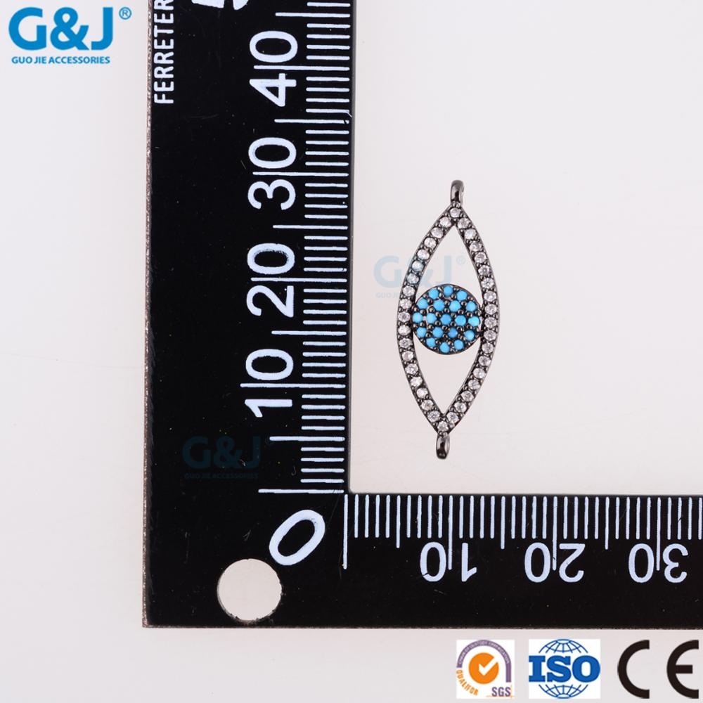 guojie brand micro Necklace Pendants multicolor cubic zircon micro pave pendant for necklace