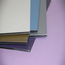CE certified pvdf coate surface lightweight wall finishing material/decorative aluminum composite panel price