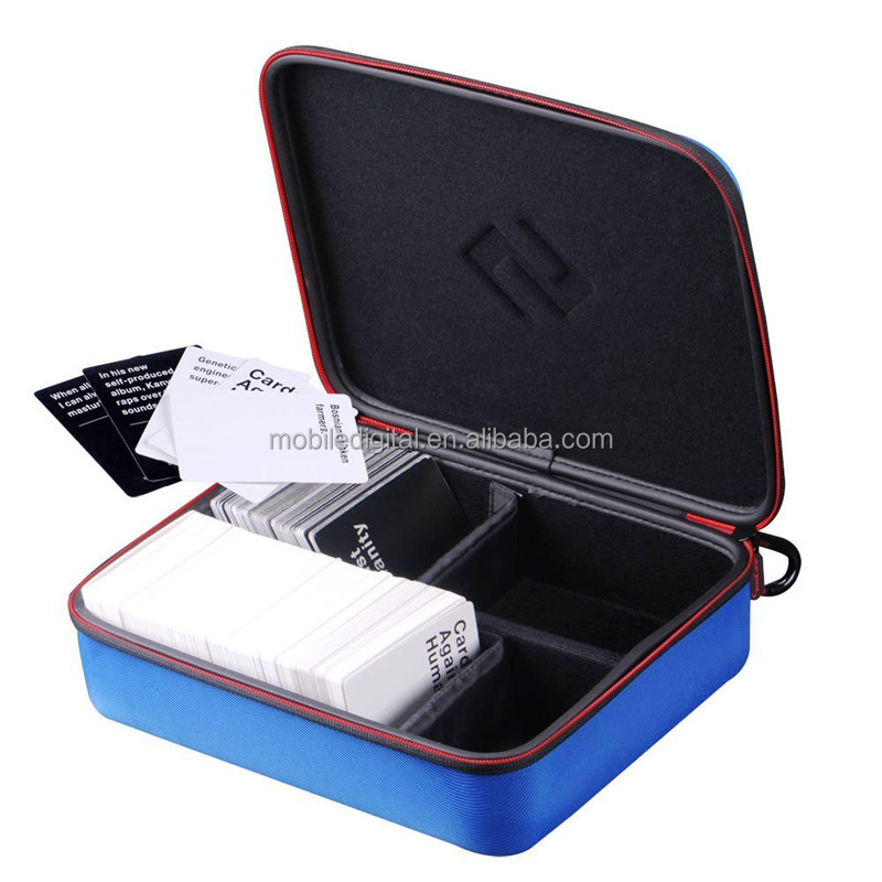 China supplier factory of Large Hard Case for C. A. H. Card Game, Including 4 Moveable Dividers