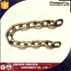 Galvanized welded NACM 90 industrial metal chain (Grade70)