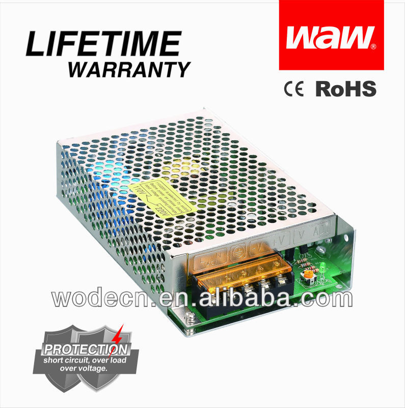 27v 15a 75w smps switching power supplier with CE ROHS approved