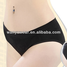 Factory Provide Latest Seamless Women Nylon Full Brief Girls Wearing Panty