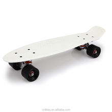smart blank rechargeable bamboo fish cruiser flowboard skateboard