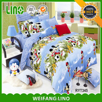 high quality home 100% cotton 133x72 cat print bedding set
