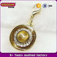 Cheap wholesale price gold shell charm