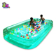 Customized inflatable swimming pool singapore , inflatable square swimming pool