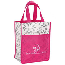 2013 best seller non woven shopping bag angel kisses gift bags