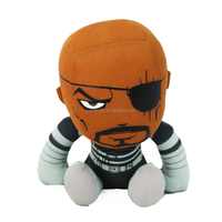 factory price ,fashion soft toy, plush & stuffed toy,bald strong,