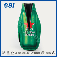 Most Popular Advertising Slap Personalized Neoprene Beer wine bottle cooler keep the wine and beer cold