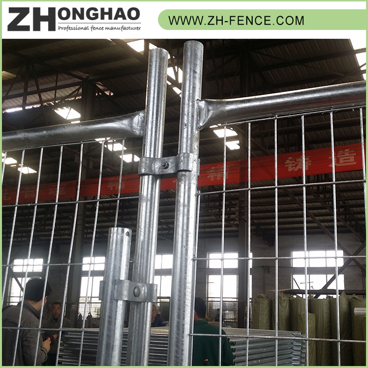 Steel Metal Type Pvc Portable Temporary Fence Panel
