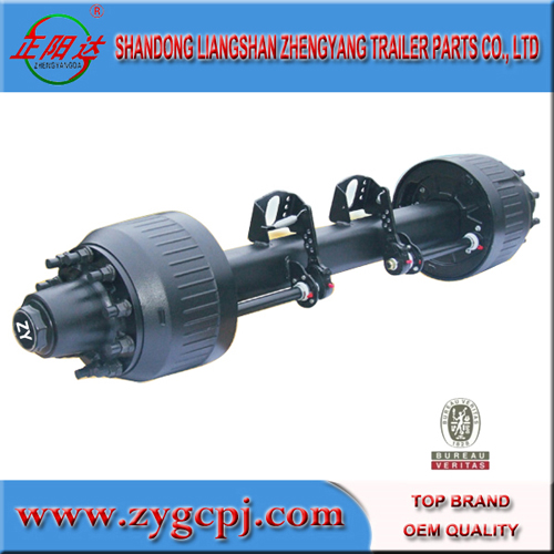 oilfield fan trailer axles 16T new type axles for sale