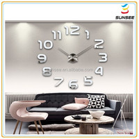 1-3mm New design safety backed best Price Colorful flexible acrylic wall clock parts for kids