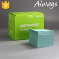 [ALWAYS] 55% Woodpulp 45% Polyester Embossed Industrial Wiping Paper