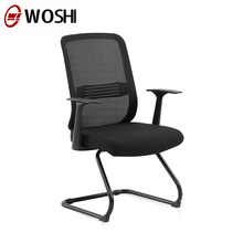 Simple design mesh office chair without wheels for manager wholesale