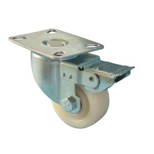 3 inch Nylon wheel swivel caster for tool box , hand pallet jack, industrial,food baking equipment