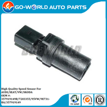 Auto Part Vehicle Speed Sensor For AUDI/VW/SKODA/SEAT OE# 357919149/357919149B / 357 919 149/357 919 149B