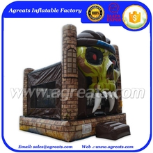 2016 kids fun terror bounce commercial inflatable bouncy jumping castle for Halloween used on sale G3132