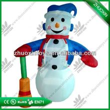 large outdoor Christmas ornament, pvc inflatable christmas tree