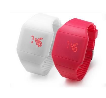Competitive Price Digital Silicone Watch Led Kids Watch