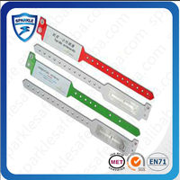HF 13.56MHz Disposable RFID Wristbands(bracelets) for health care