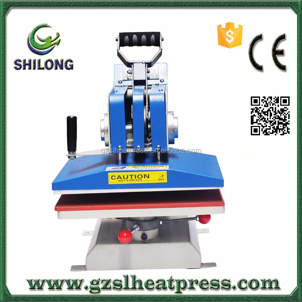 Best selling hot chinese press machine laser printing machine for t-shirt high quality products Swing away sublimation machine