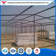 Customized Easy Assembling Chicken Broiler Poultry Shed Farm House Design with Steel Structure