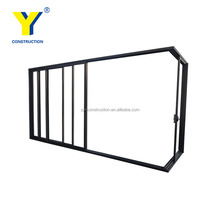YY windows and doors AS2047 used overhead living room glass doors house doors