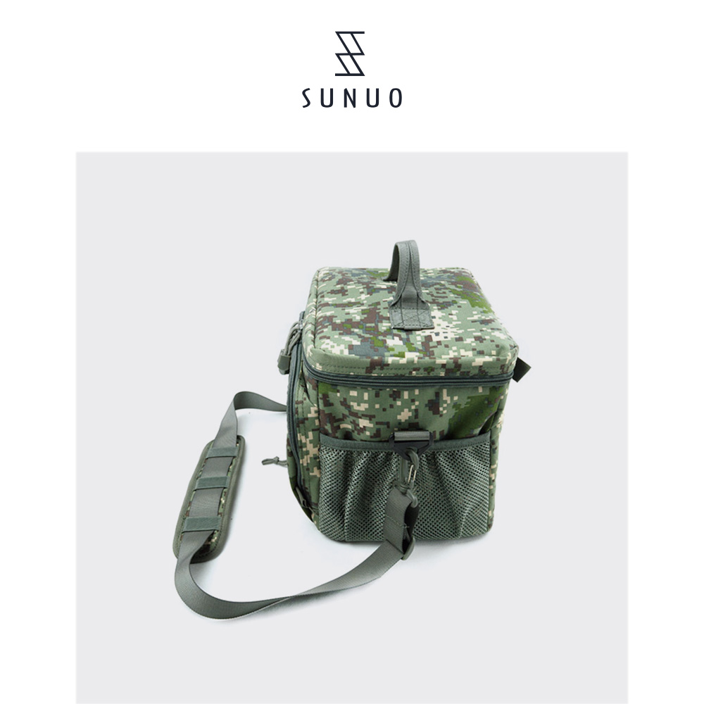 Pratical PEVA Waterproof Eminent Portable Camouflage Thermal Lunch Bag For Military