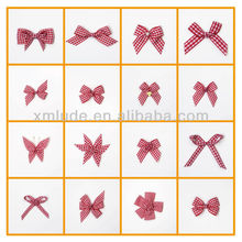 2014 Hot sale satin ribbon flowers making