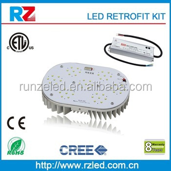 etl listed 450w led metal halide replacement 150w led retrofit kit with 8 years warranty