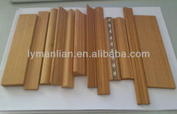 best quality engineered wood teak 1/2 round moulding