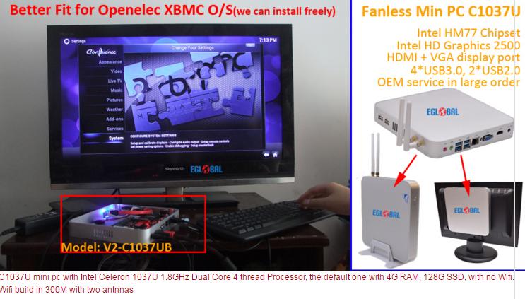 pas cher mini pc intel celeron 1037u petit ordinateur. Black Bedroom Furniture Sets. Home Design Ideas