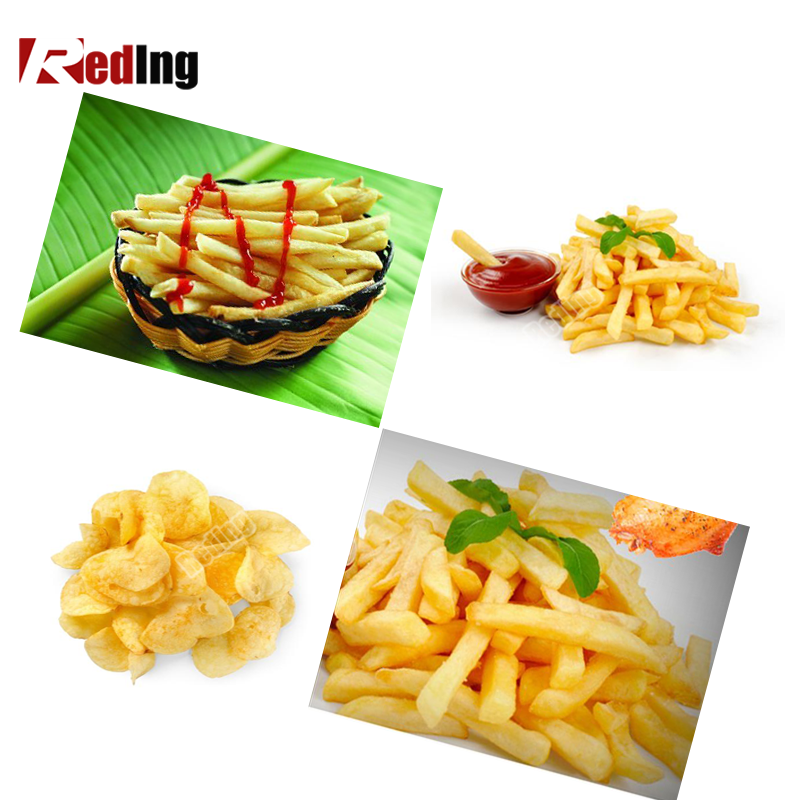 Frying Machine / Fried Potato Chips Making Machine