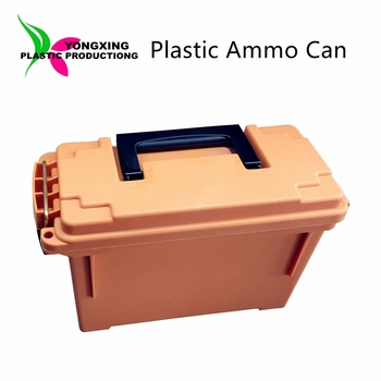 New design plastic small size civil ammo can