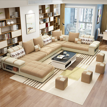 Modern Simple Fabric Living Room Sectional Circular <strong>Furniture</strong> Sofa