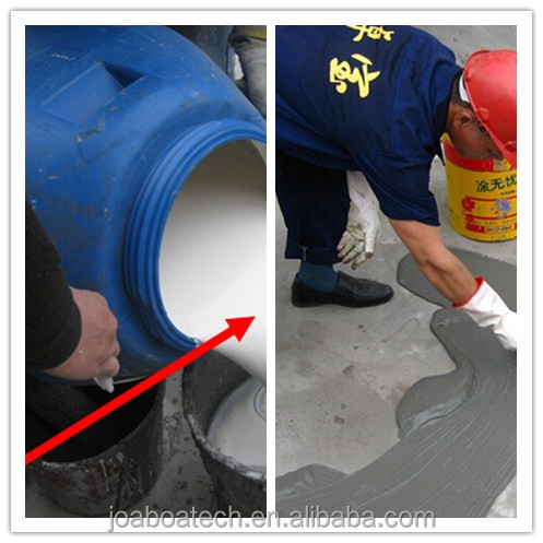 White Color Polymer Cement Based Waterproofing Coating