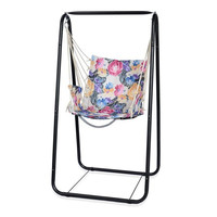 Factory price hanging chair,garden swing chair, outdoor hammock chair with stand JF-05-21
