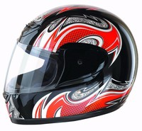 Fashion design cool full face dual visor motorcycle helmet