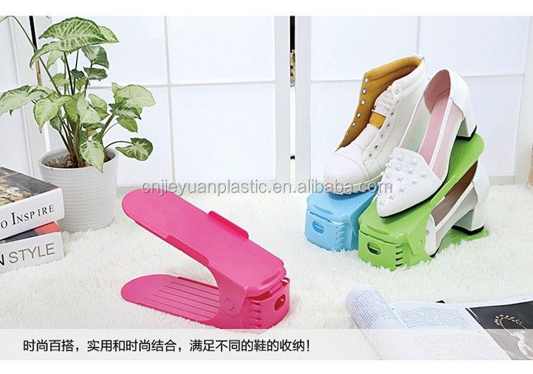 New design shoe rack plastic shoe rack jordan portable shoe rack/standing shoe racks