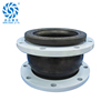 DN250 ductile iron casting flange flexible rubber bellow pipe compensator