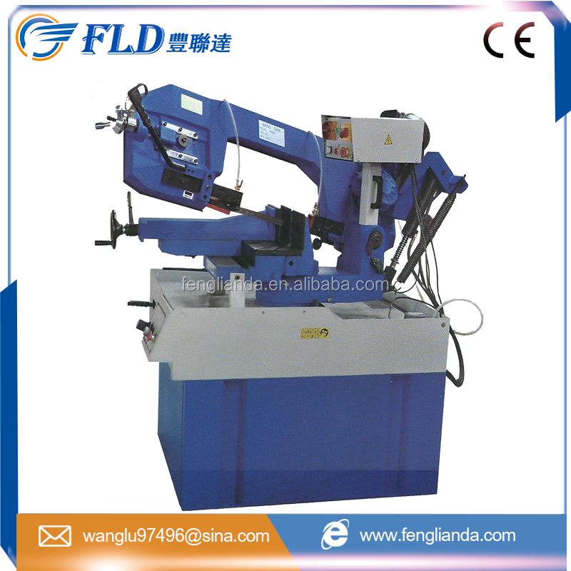 "Circular 90 degree 200mm Metal Cutting Machine 11"" Automatic Band Saw Machine"