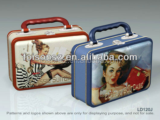 Foodgrade high quality metal tin Lunch Box