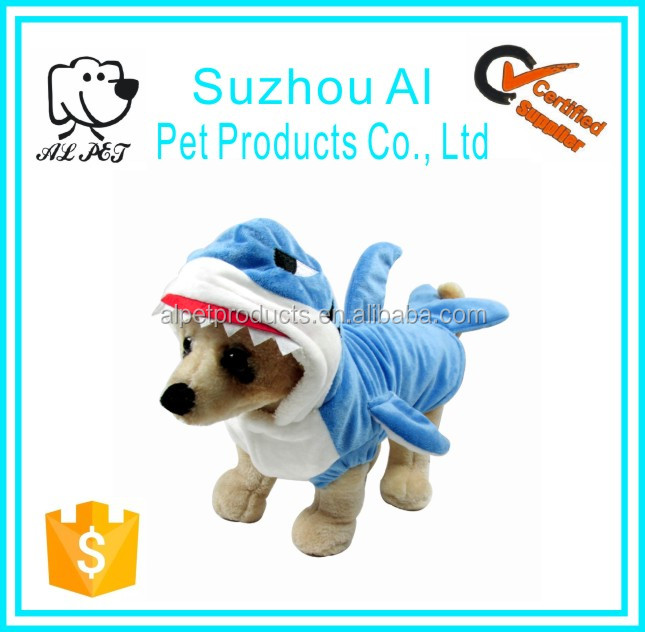 Lovely Pet Dog Clothes Cat Apparel 3D Shark Clothes of Dog