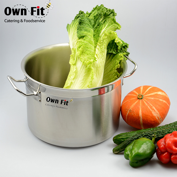 Low MOQ Fast delivery 555 stainless steel stock pot