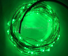 Christmas decoration Copper Solar led triping mini wire led string lights 10/20/30/40/50/60/70/80/100M