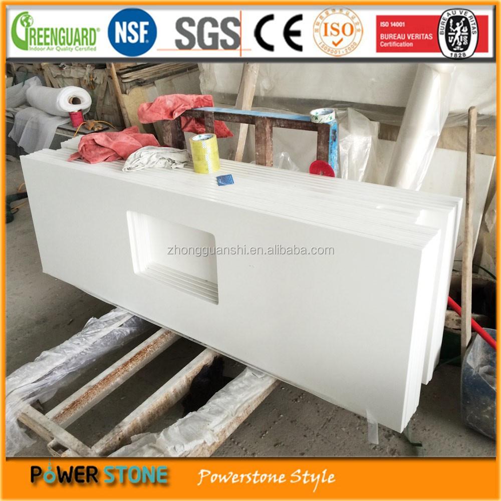 Best Price White Quartz Kitchen Countertop Materials For Construction ...